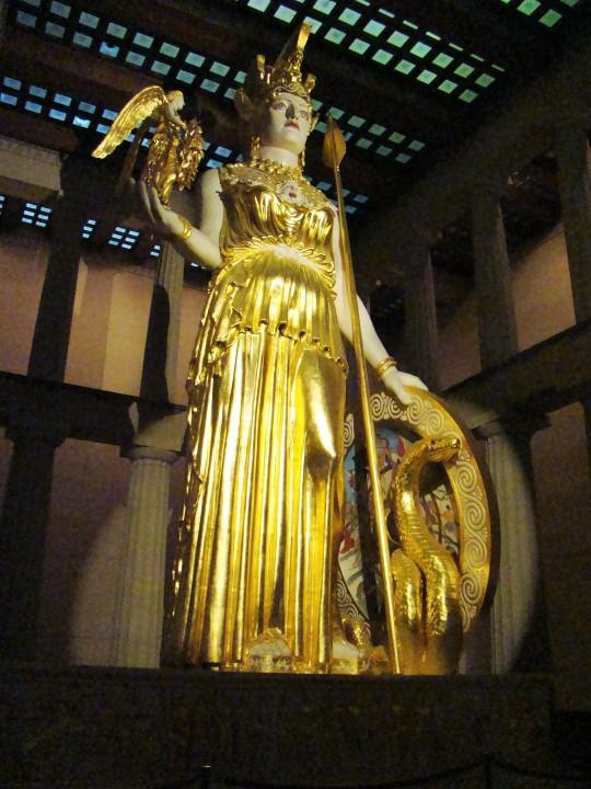 Parthenon Athena
