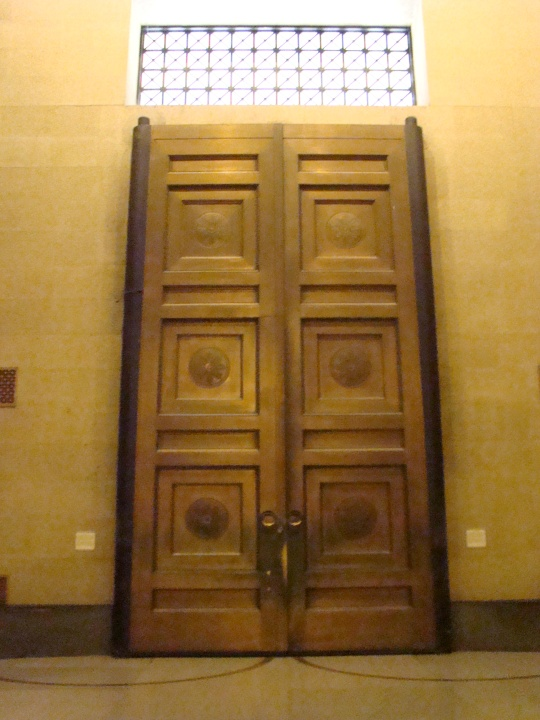 Parthenon Doors