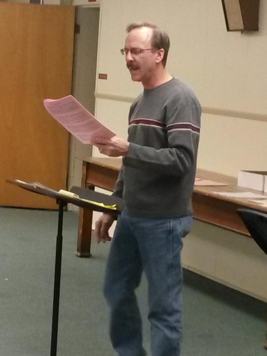 Paul directing