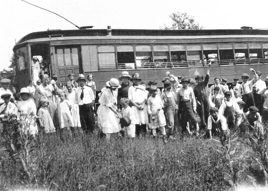 Interurban Vacation Bible Class in 1925