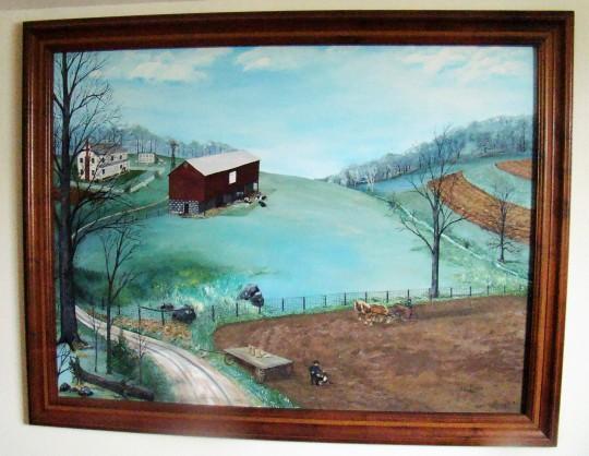 Judy Amish painting
