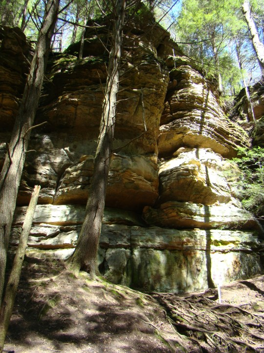 Cedar Falls cliffs
