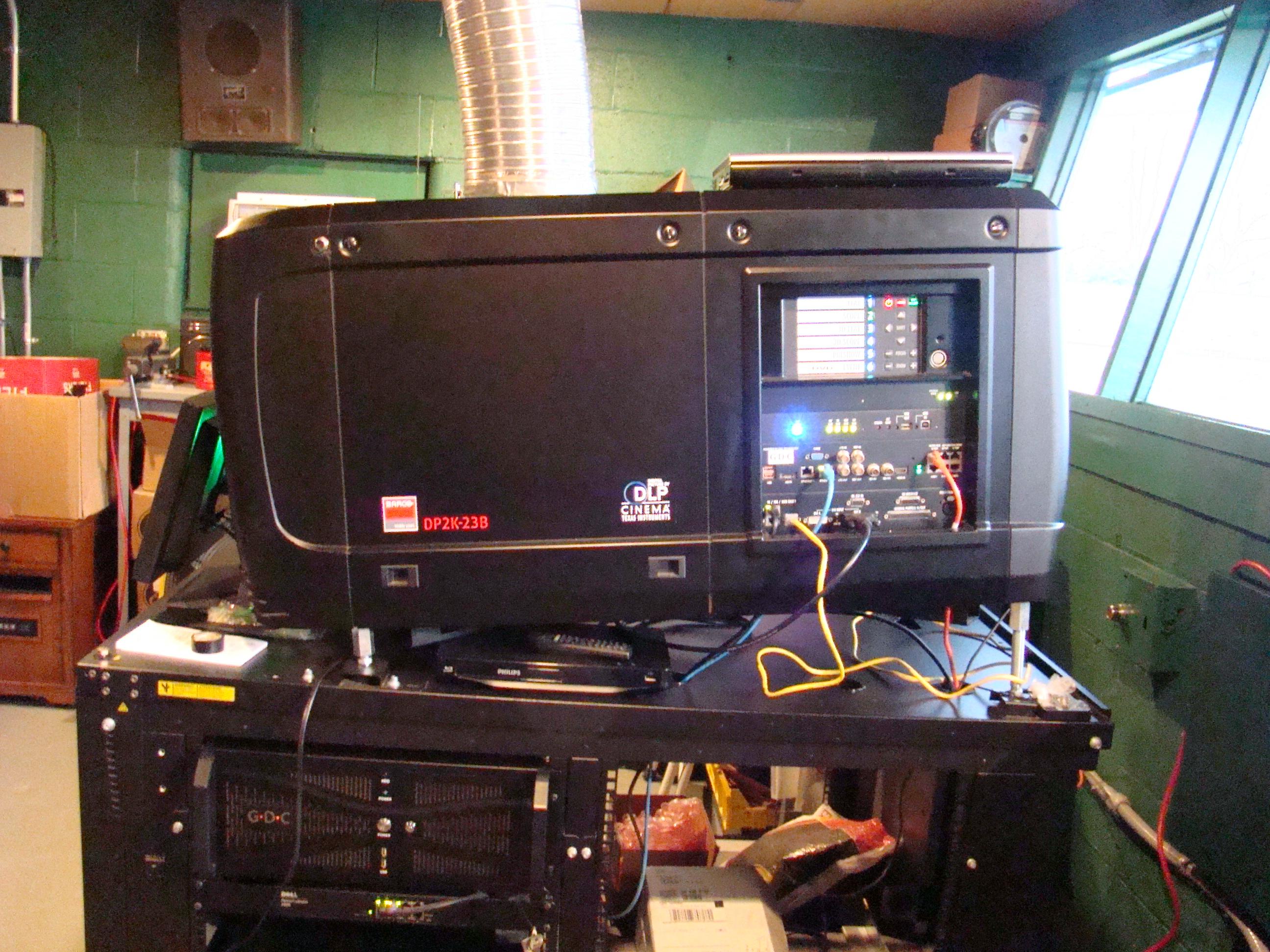 Lynn's digital projector