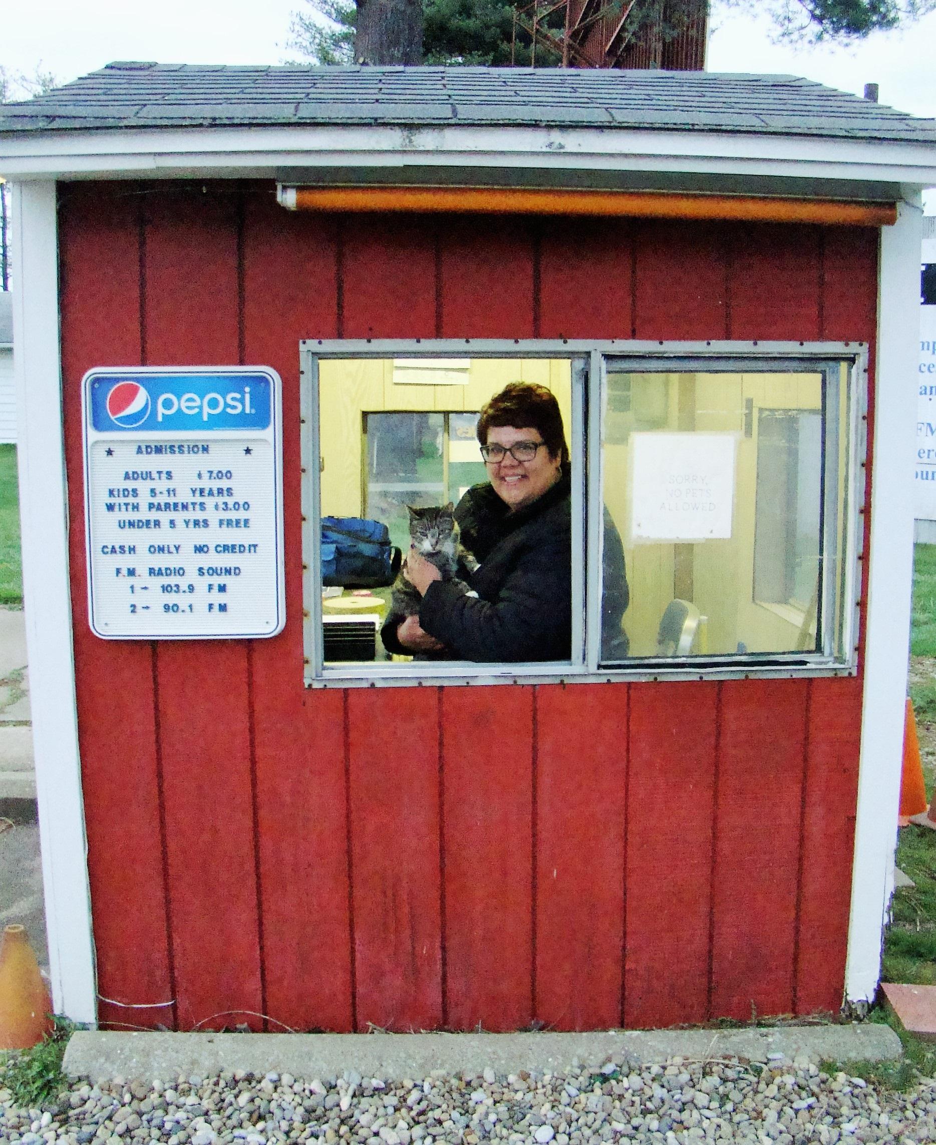Lynn's ticket booth