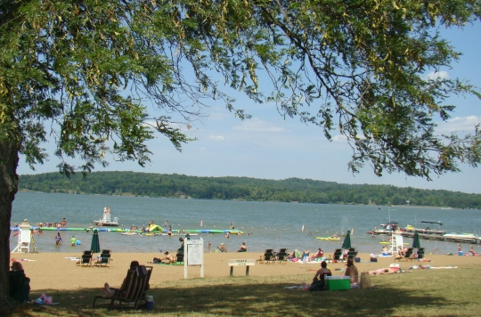 Seneca Lake Beach