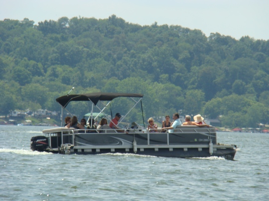 Seneca Lake Pontoon