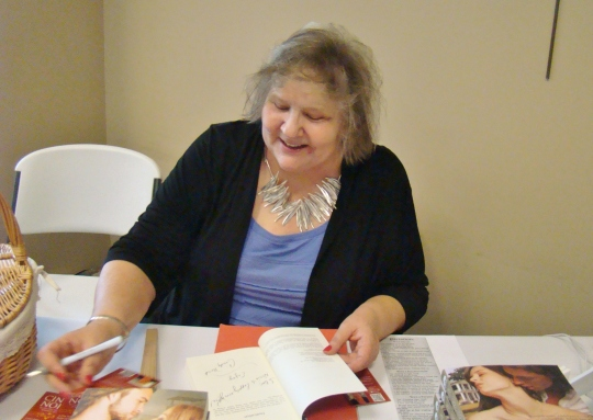 Cindy book signing