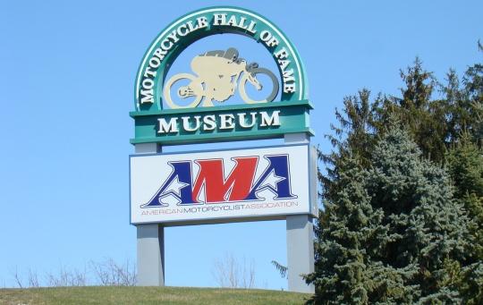AMA Museum Sign