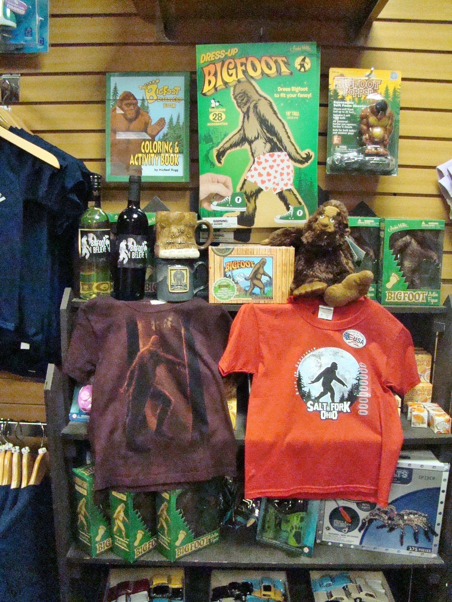 Bigfoot Gift Shop