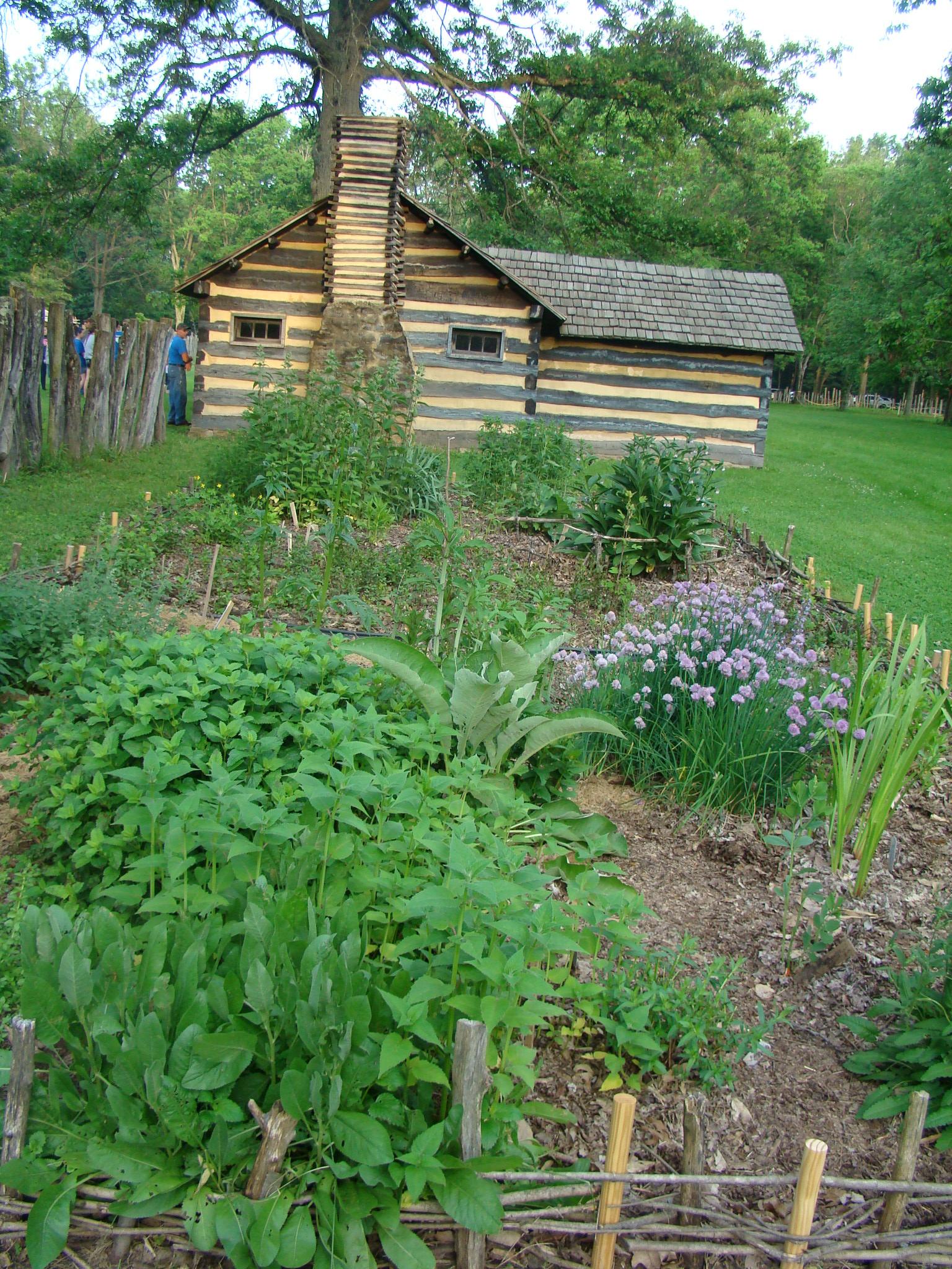 Schoenbrunn Herb Garden