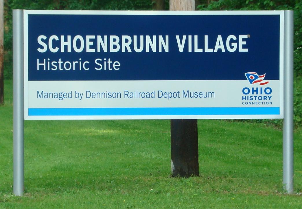 Schoenbrunn sign