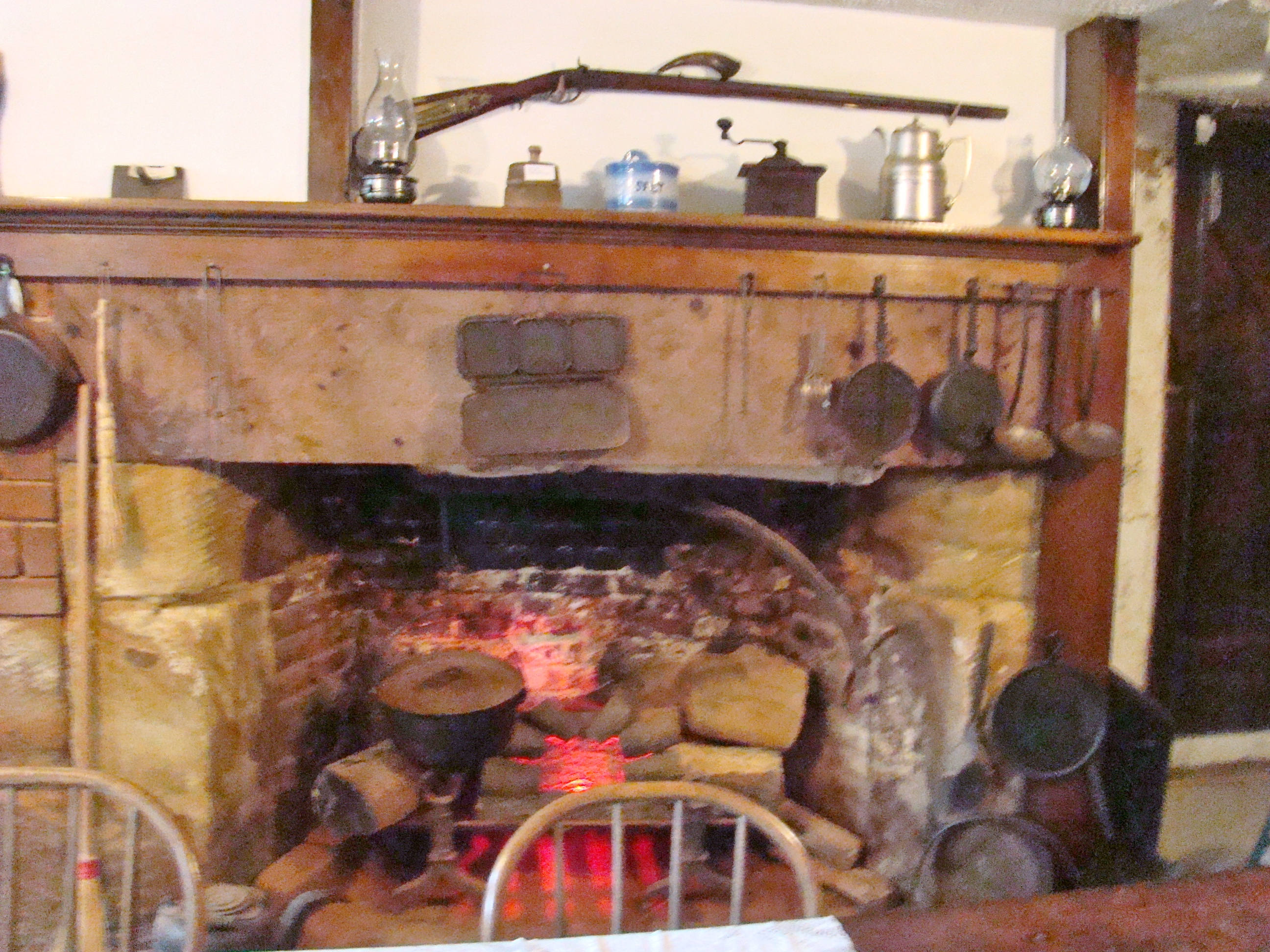 Temperance Tavern Fireplace