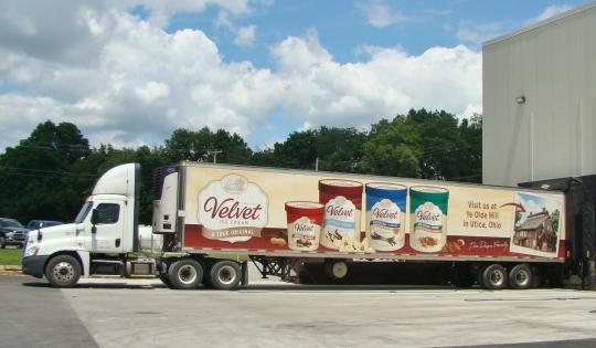 Velvet truck