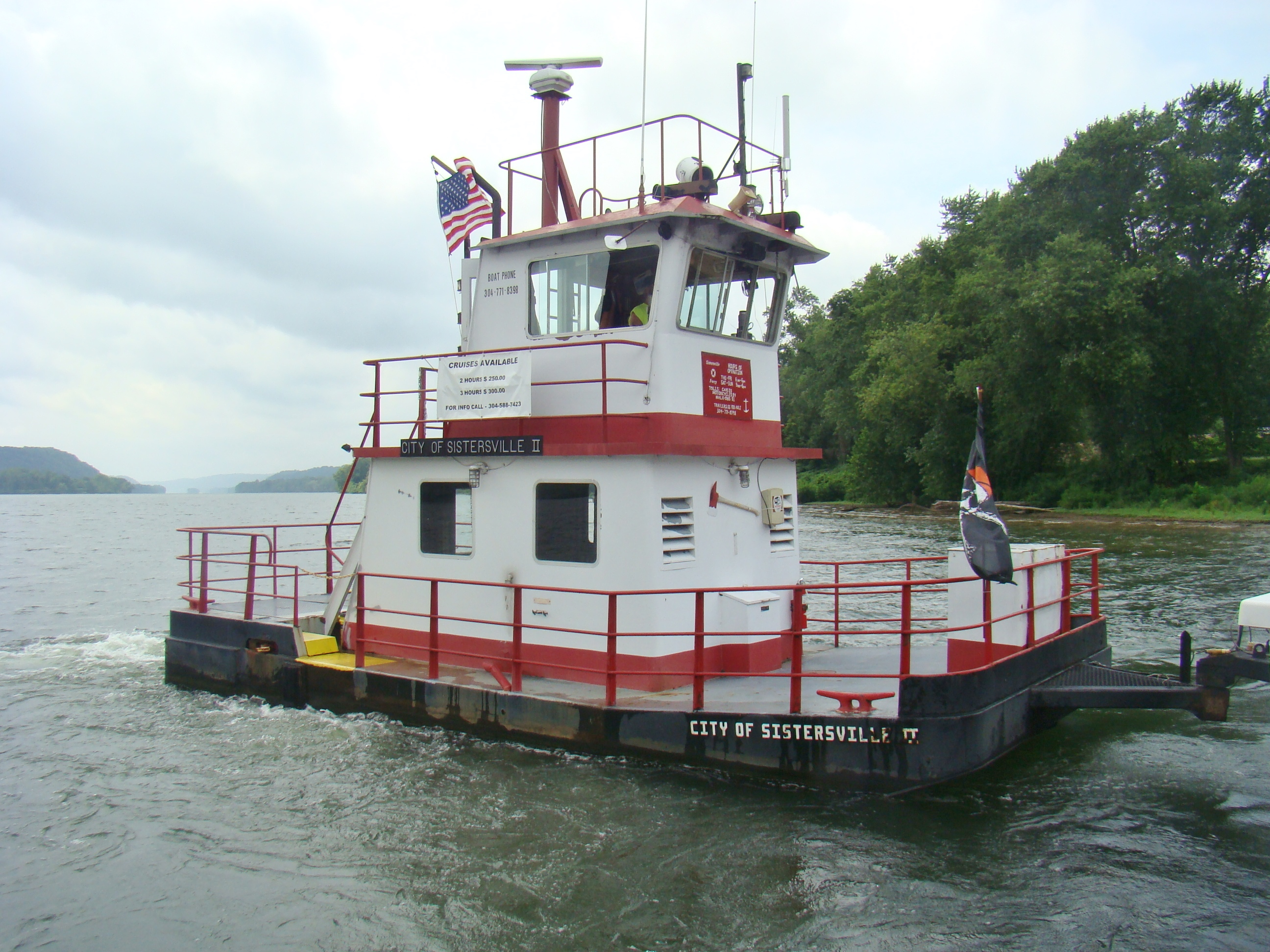 Fly Ferry close up