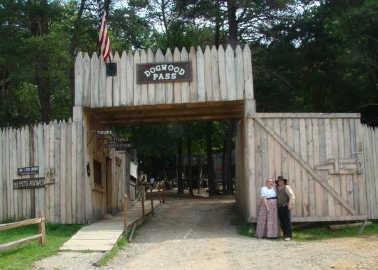 Dogwood Pass Entrance