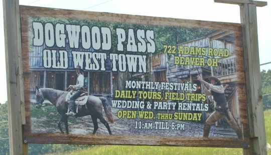 Dogwood Pass Sign