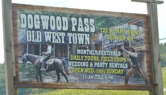 Dogwood Pass Sign