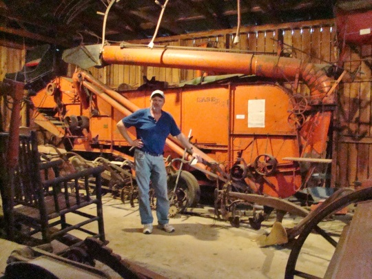 Algonquin Threshing Machine