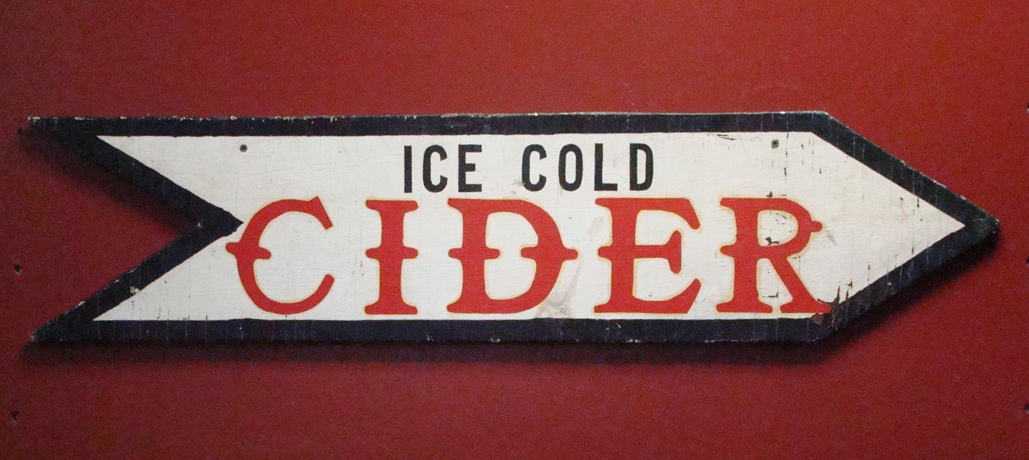 Hillcrest Cider Sign