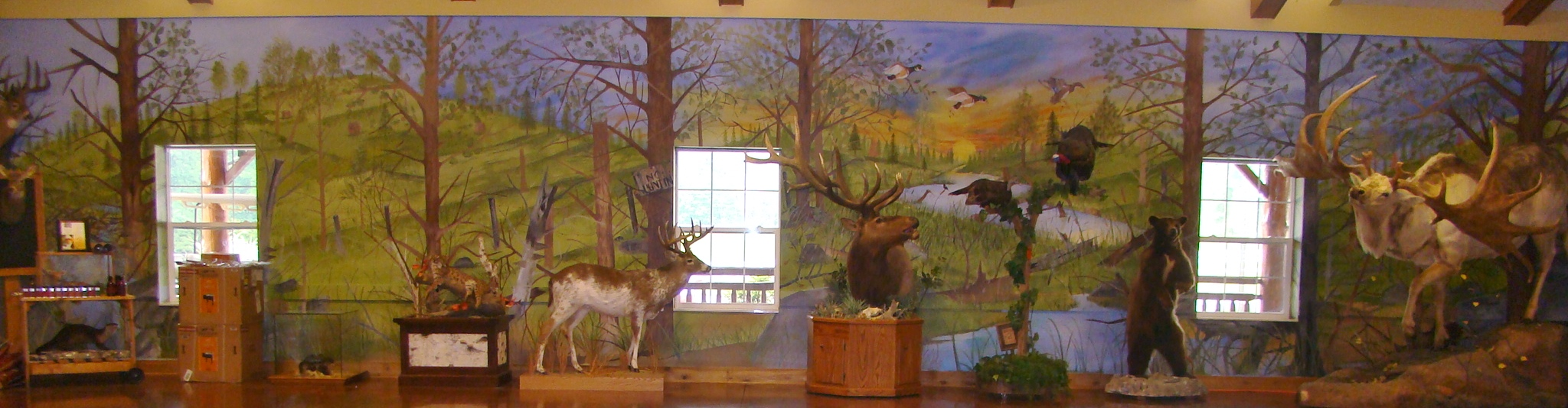Michael Warren mural