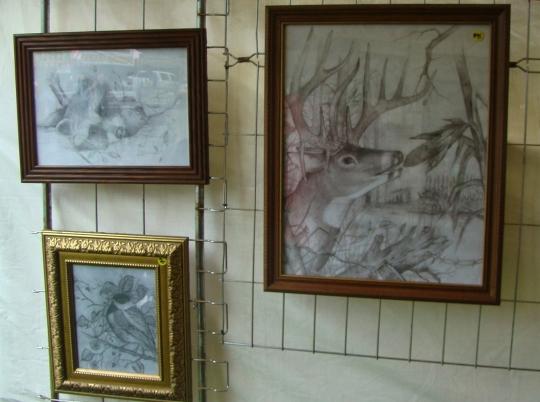 Michael Warren sketches