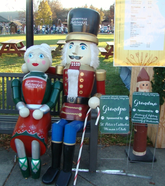 Nutcracker Grandpa and Grandma
