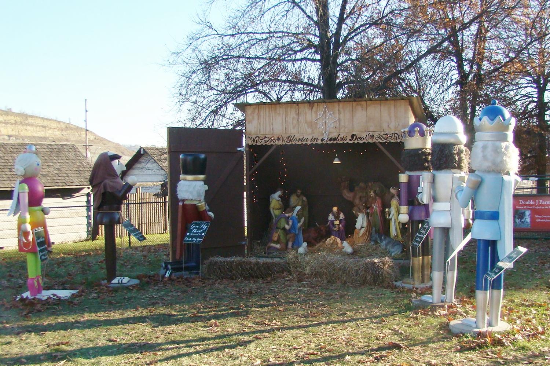 Nutcracker Nativity Scene