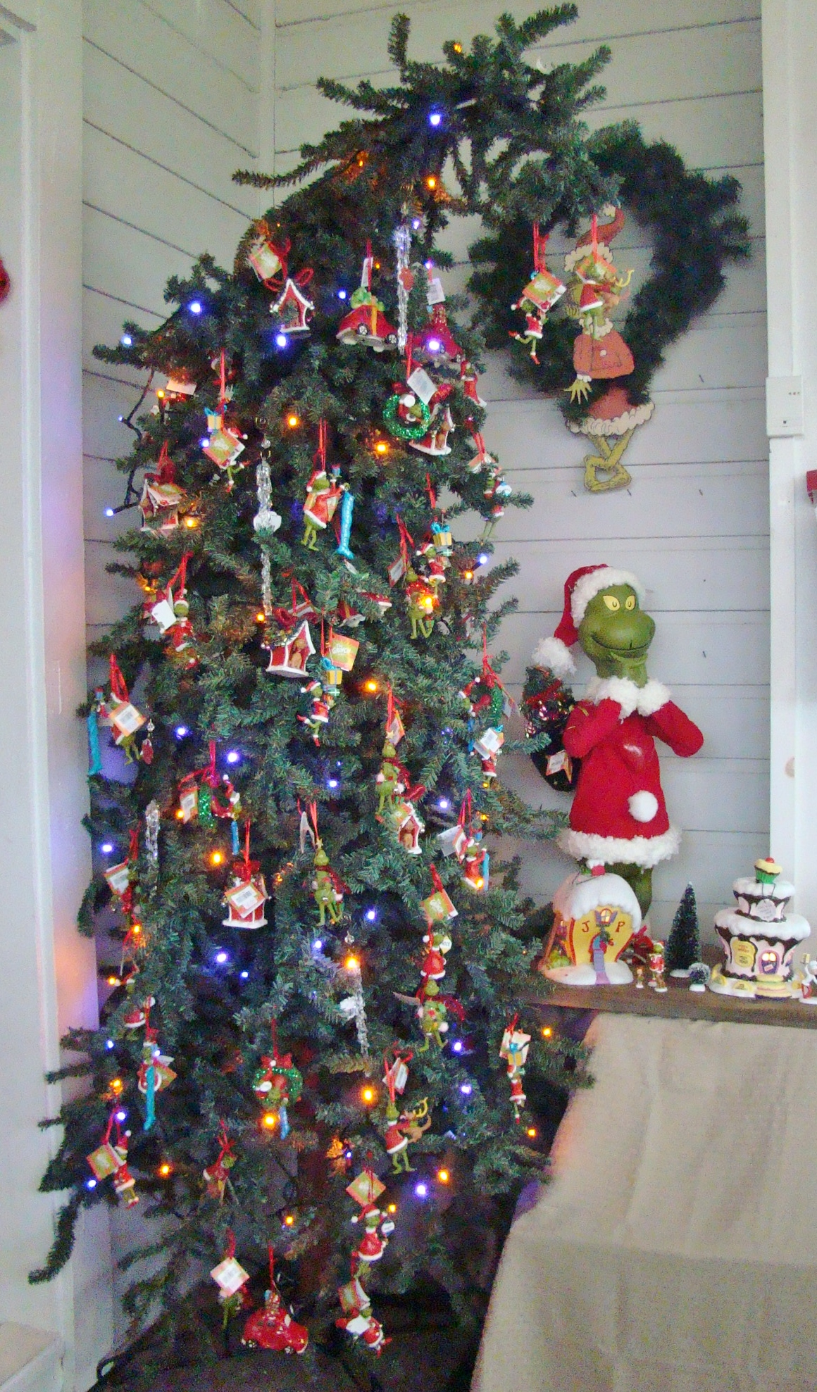 White Pillars - Grinch Tree