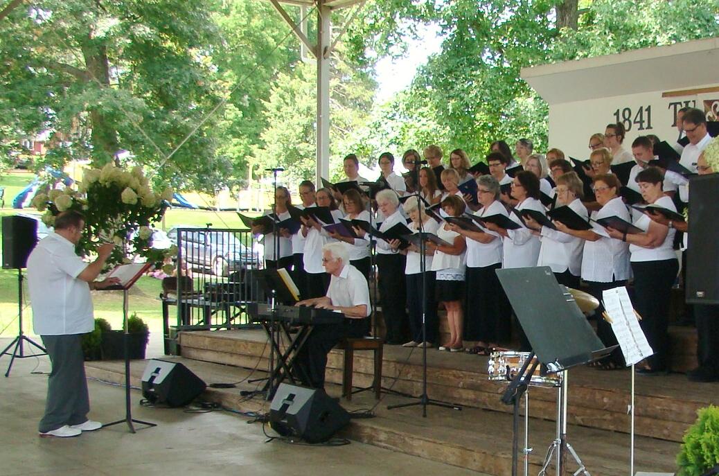 Len at Salt Fork Festival Chorus