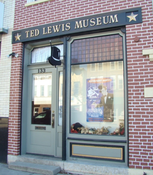 Image result for picture of the Ted Lewis Museum in Circleville