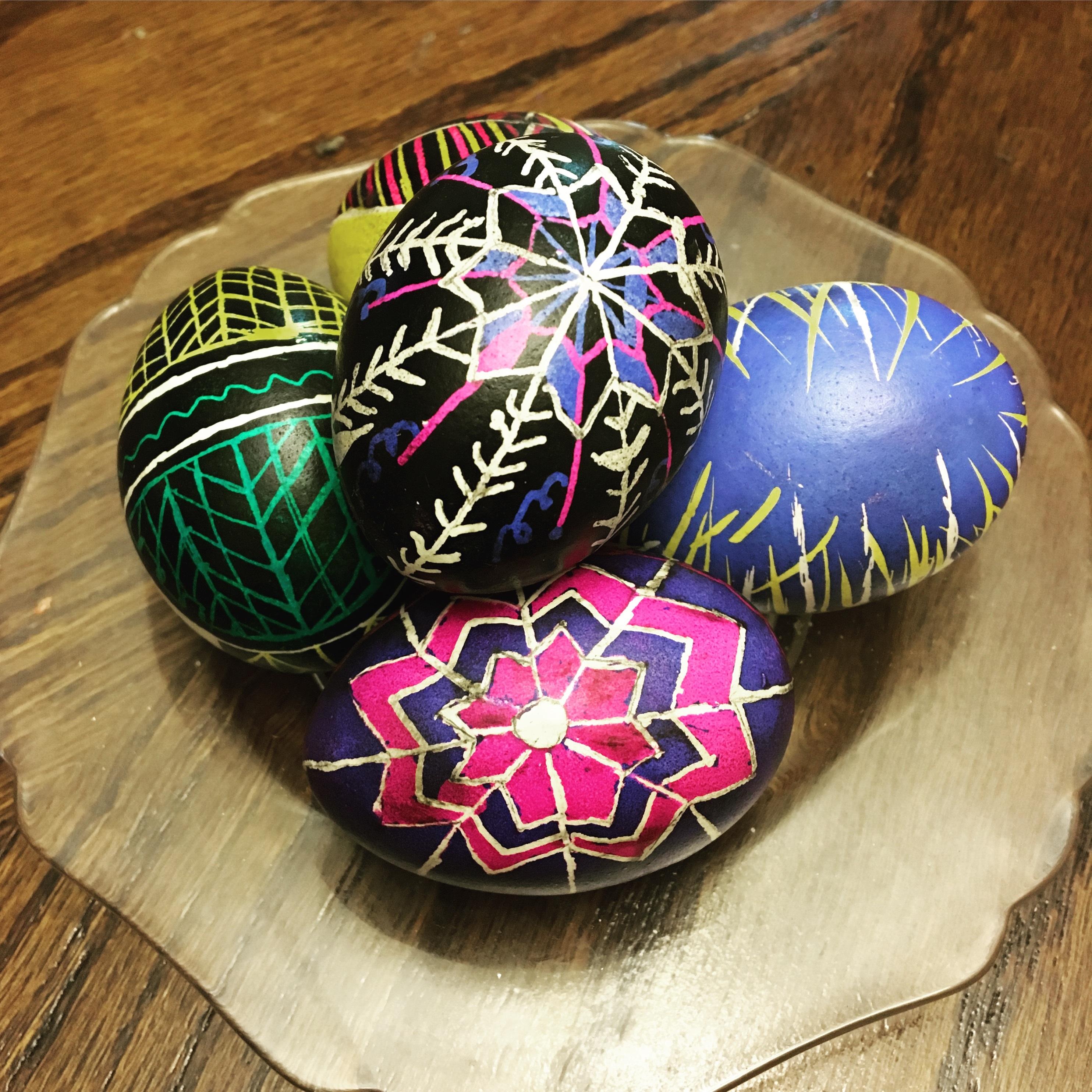 Slovak Easter eggs