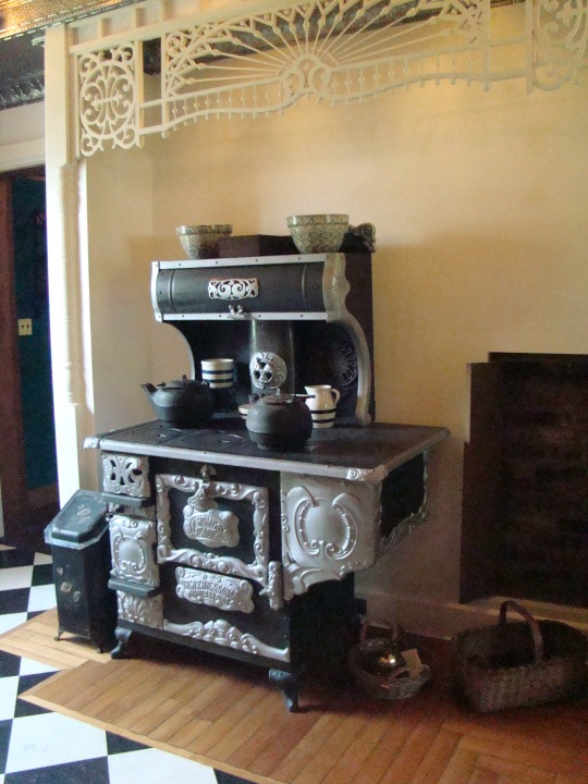 Castle Nye cookstove
