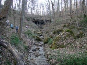 Salt Fork Hosak's Cave