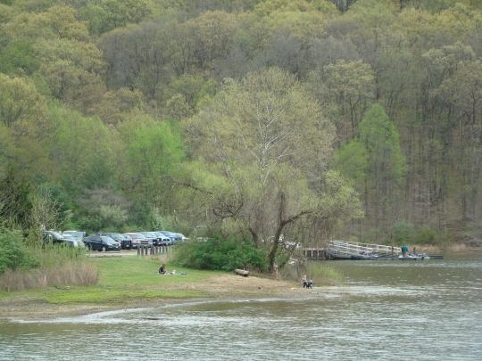 Salt Fork Picnic by boat ramp
