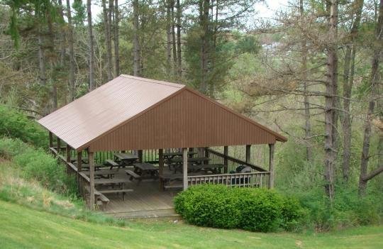 Salt Fork Picnic Shelters