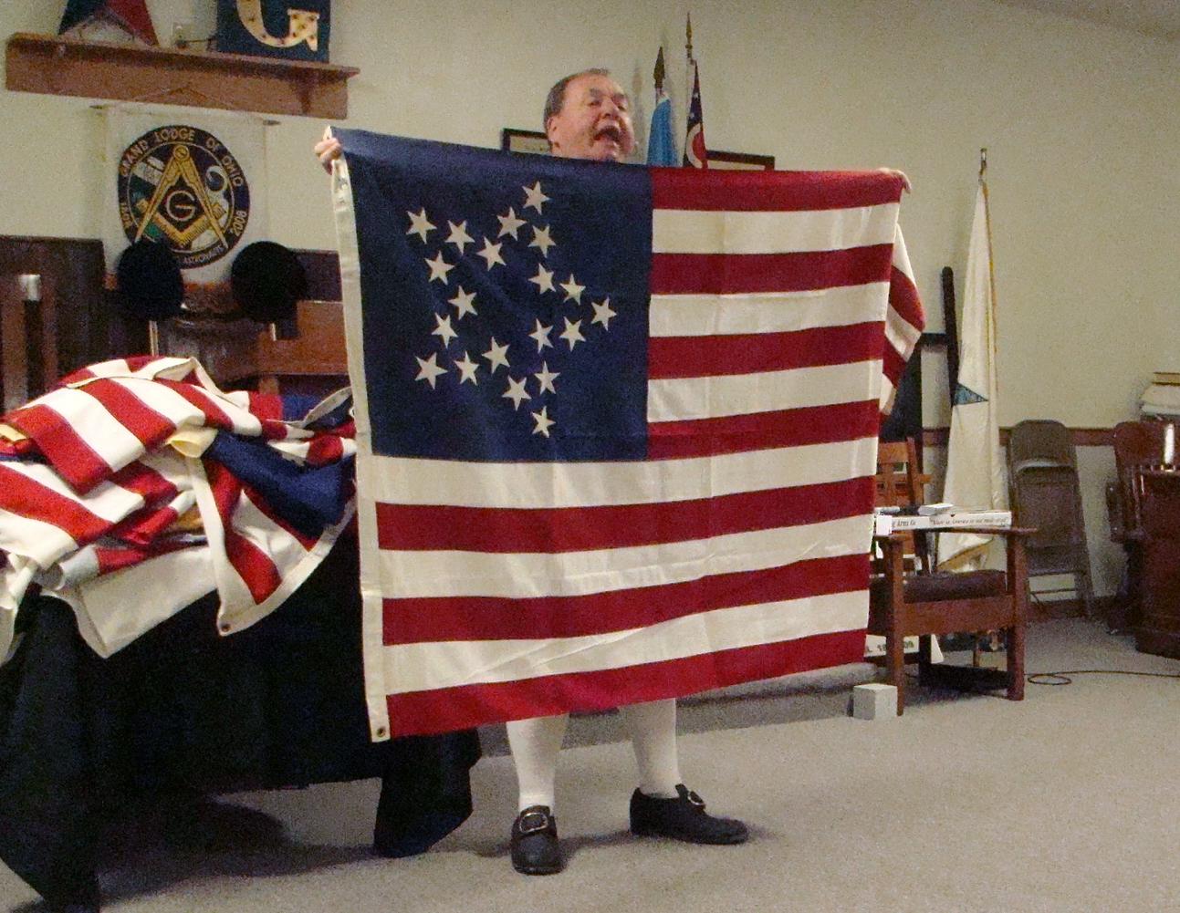 Vane Great Star Flag - 20 stars