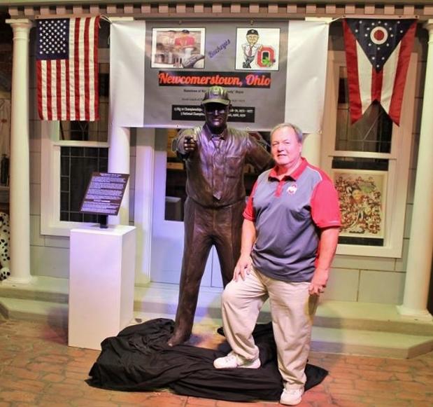Bronze Woody Hayes