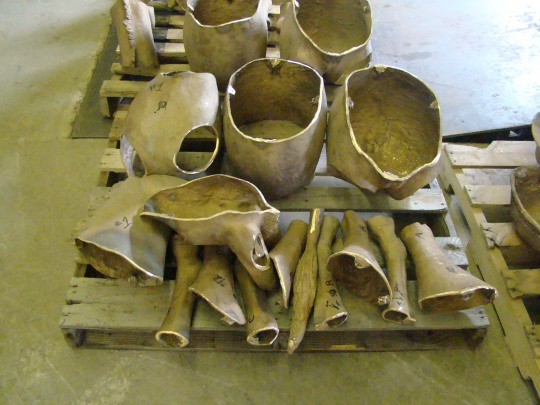 Coopermill Bronze Pieces to be Welded