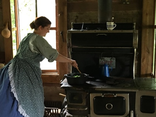 Pioneer Village Cooking