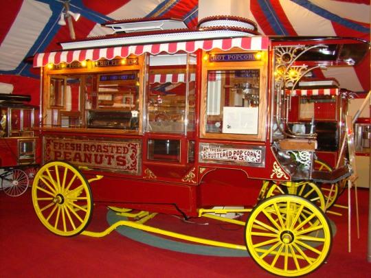 Wyandot Circus Wagon Barnum & Bailey