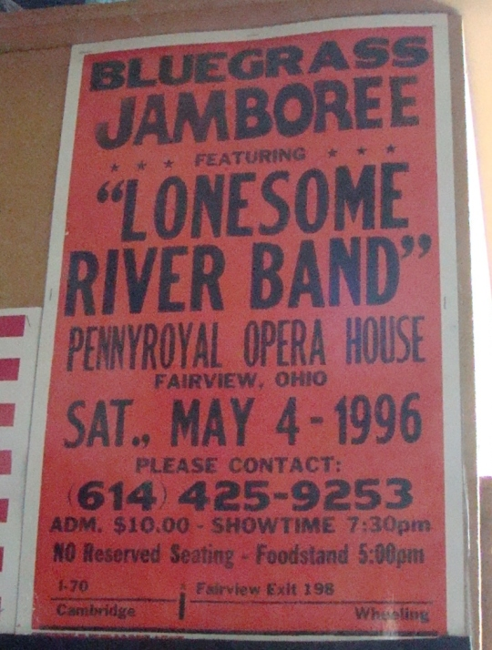 Lonesome River Band poster