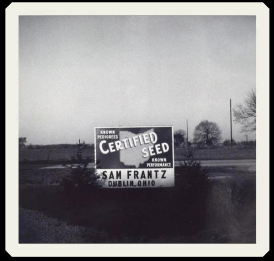 Frantz Certified Seed Sign