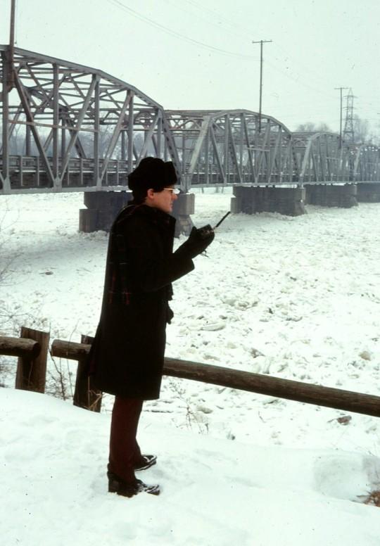 Ham CARA Alan Day snowstorm (1)