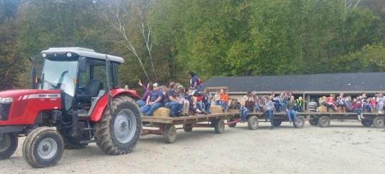 Schumaker Hay Ride