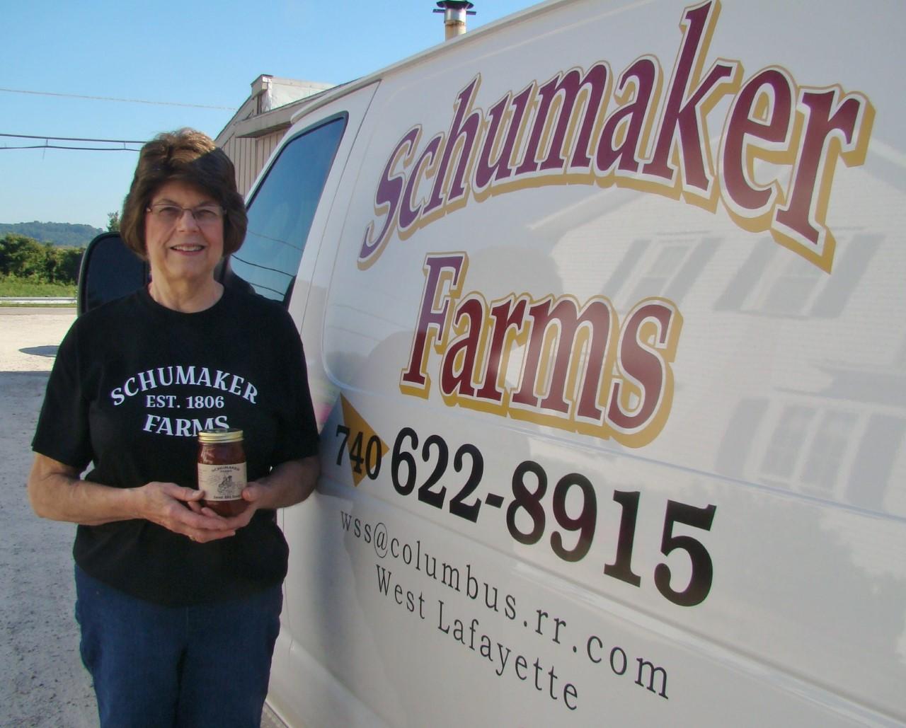 Schumaker Wendy at truck
