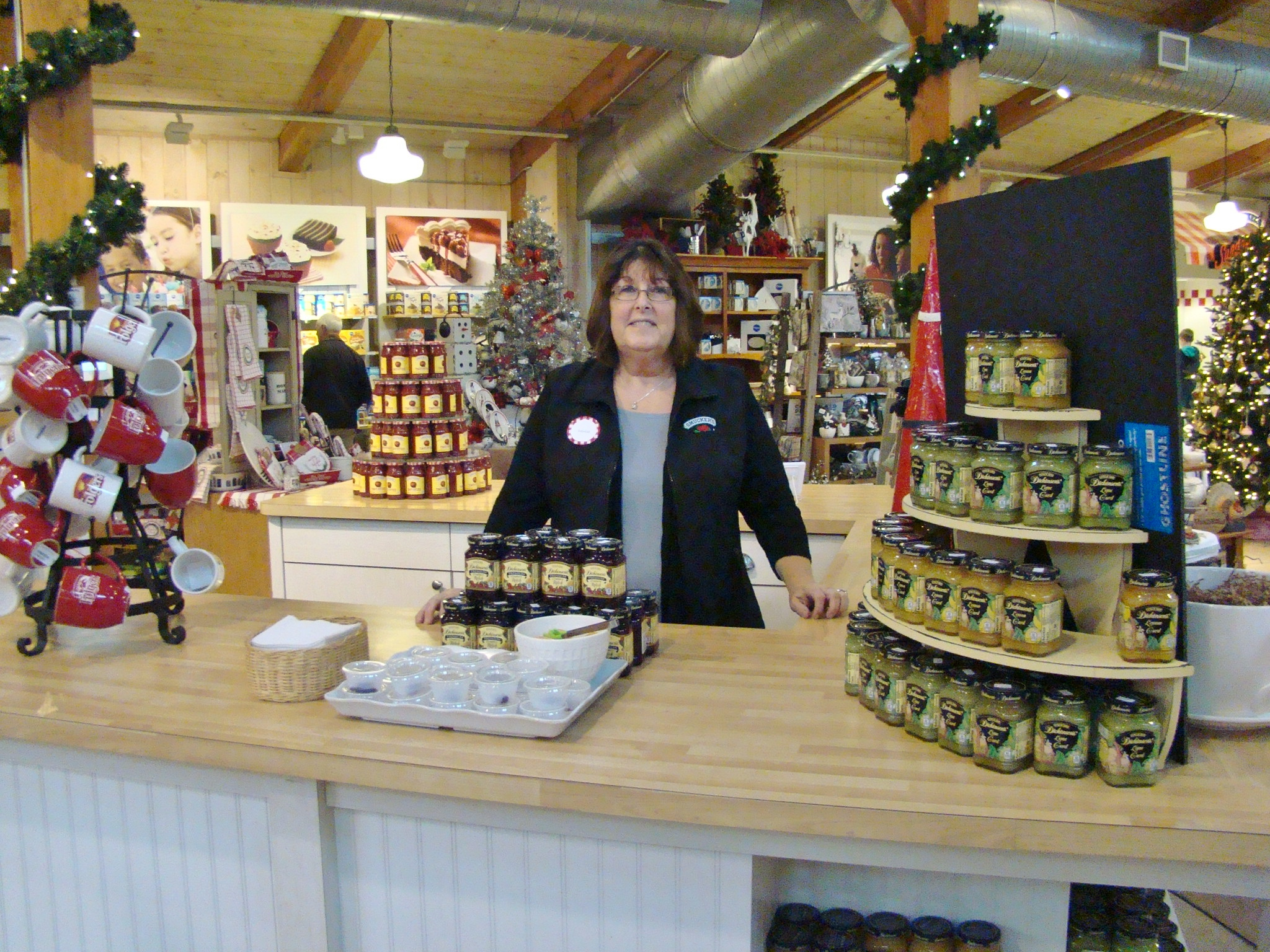 Smucker's Sample Station with Denise