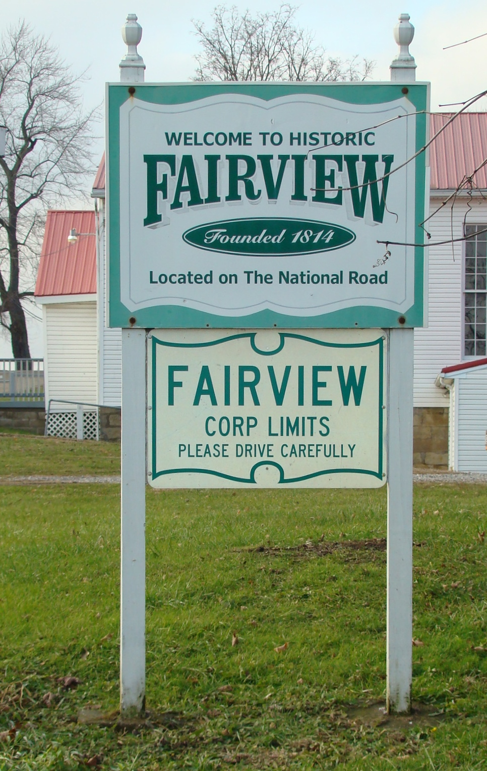 Fairview sign