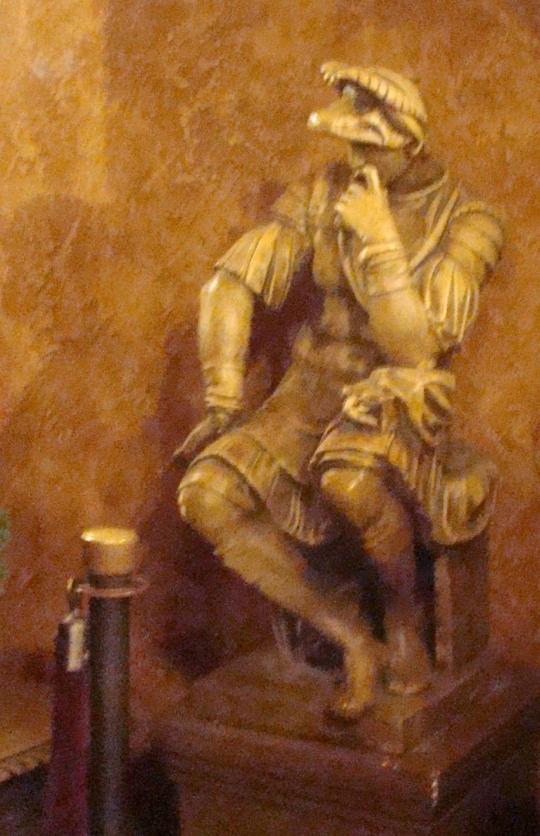 jay roman statue