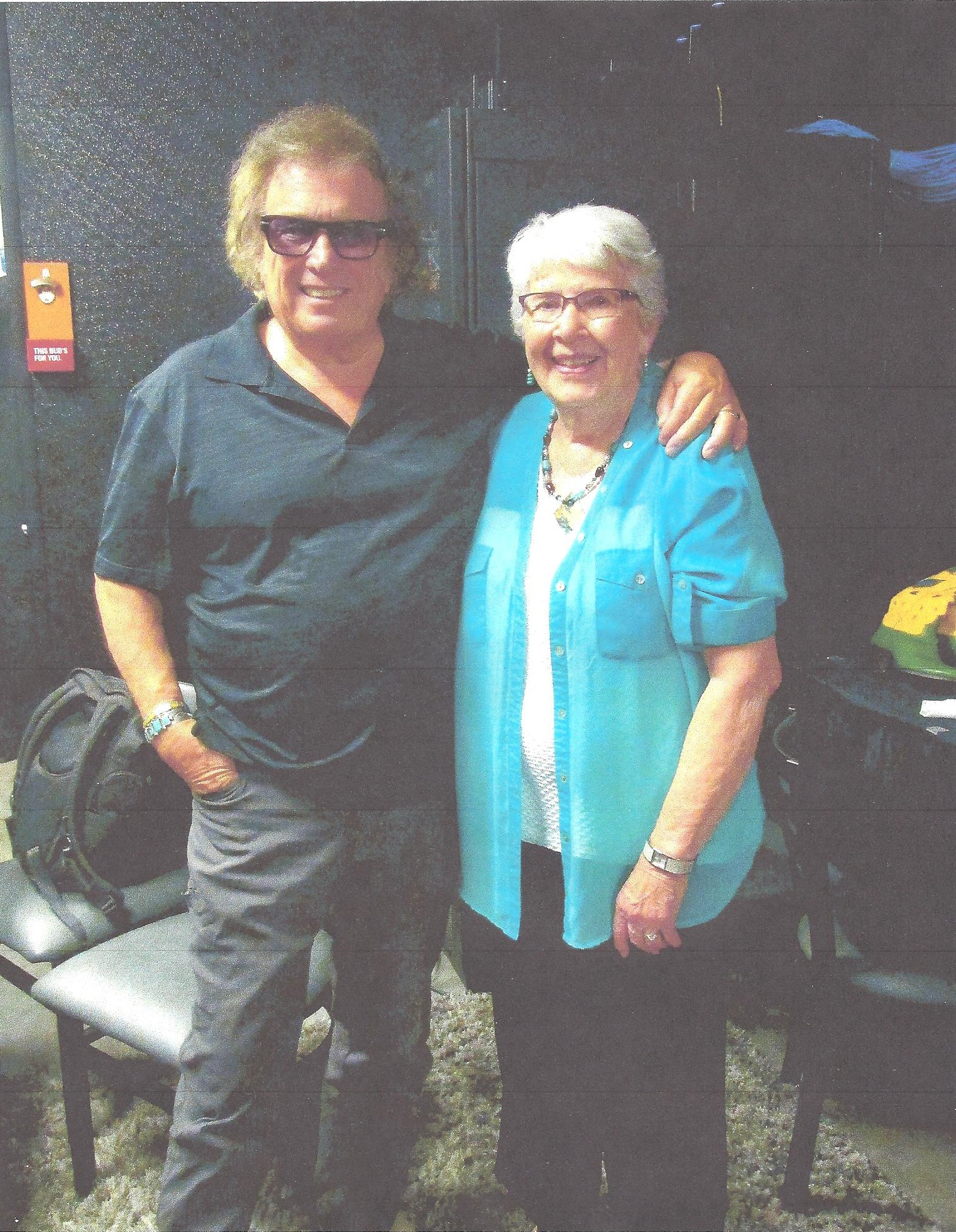 Laura and Don McLean 001