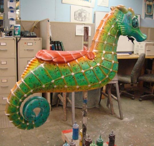 Carousel Seahorse 2